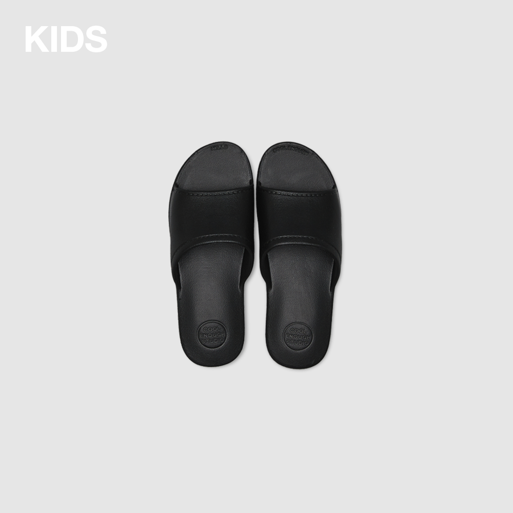 THE PLASTIC SHOES [BLACK] KIDS