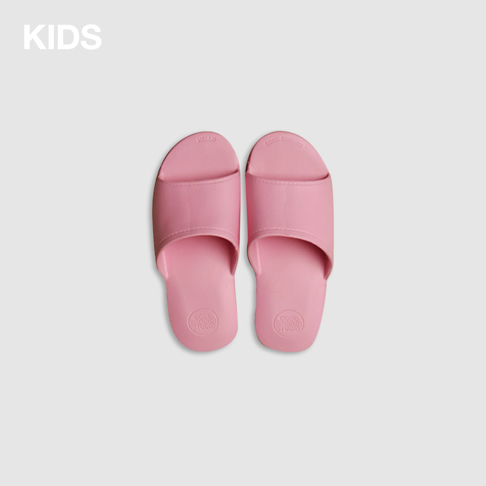THE PLASTIC SHOES KIDS_PINK