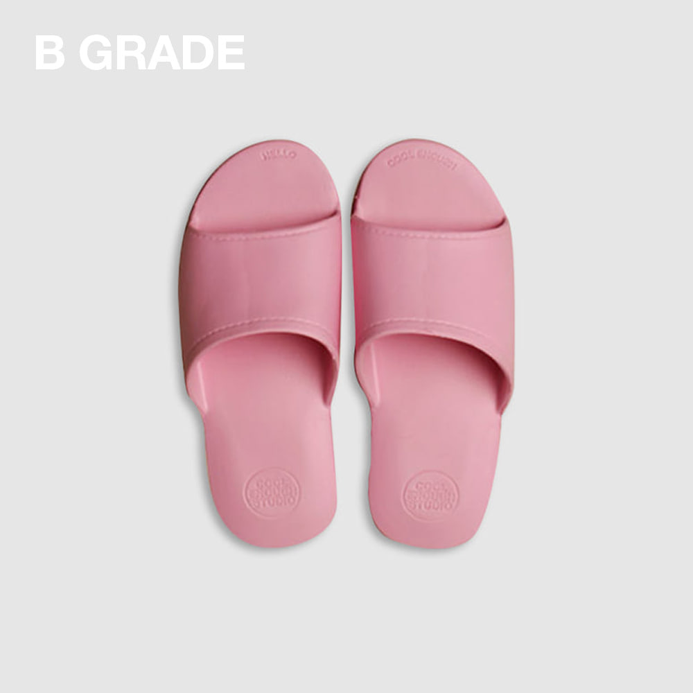 [B-GRADE] THE PLASTIC SHOES PINK (MEDIUM, 250mm)