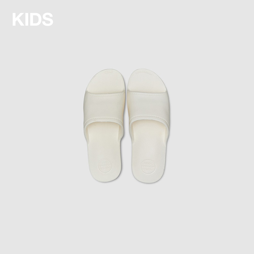 THE PLASTIC SHOES KIDS_WHITE